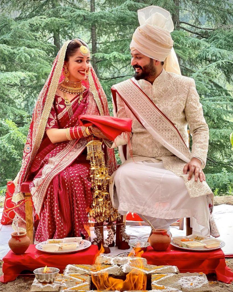 Yami Gautam MarriesUriDirector Aditya Dhar In an Intimate Ceremony. See Wedding Pic
