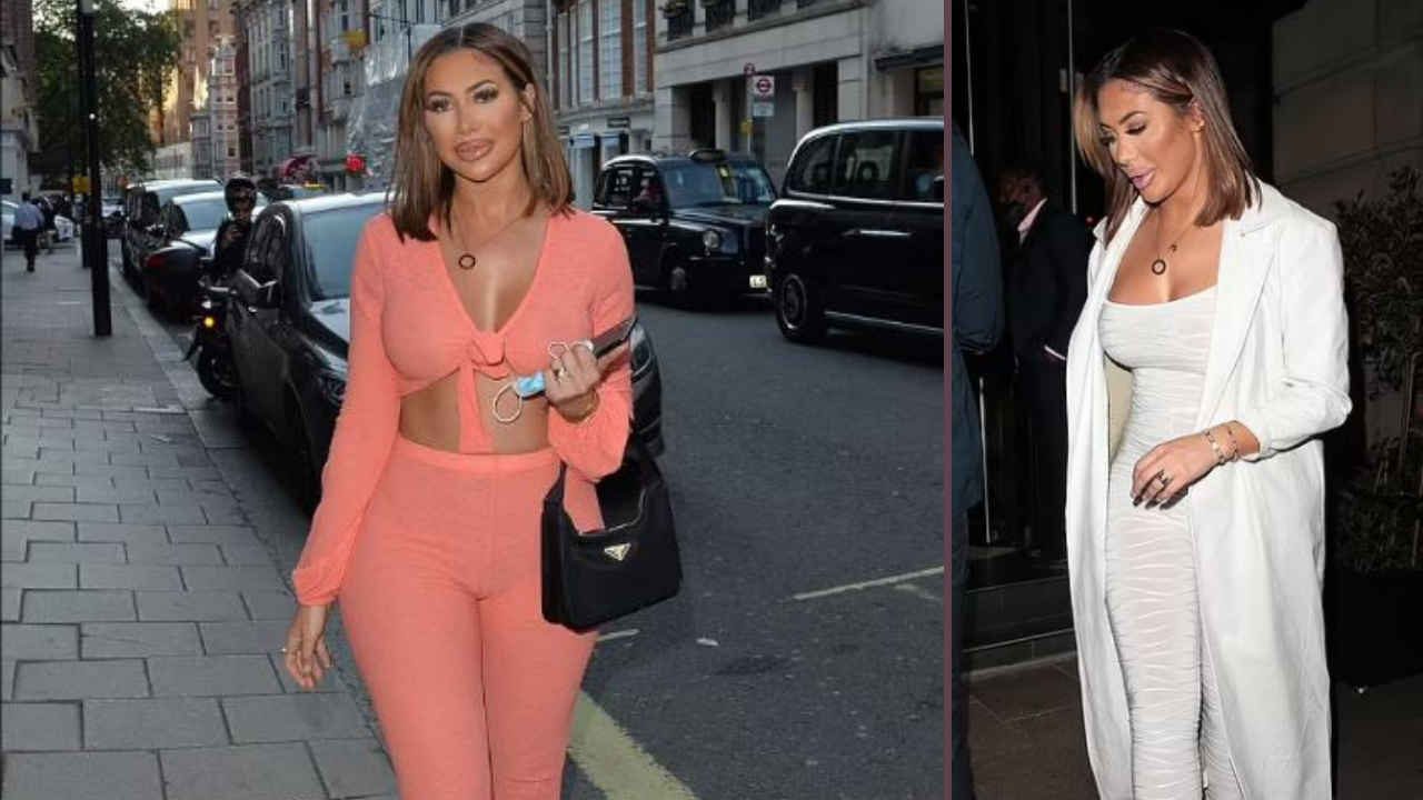 Chloe Ferry shows off her new cropped locks