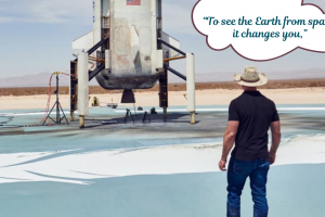Jeff Bezos is going to space on Blue Origin's first crewed rocket ship