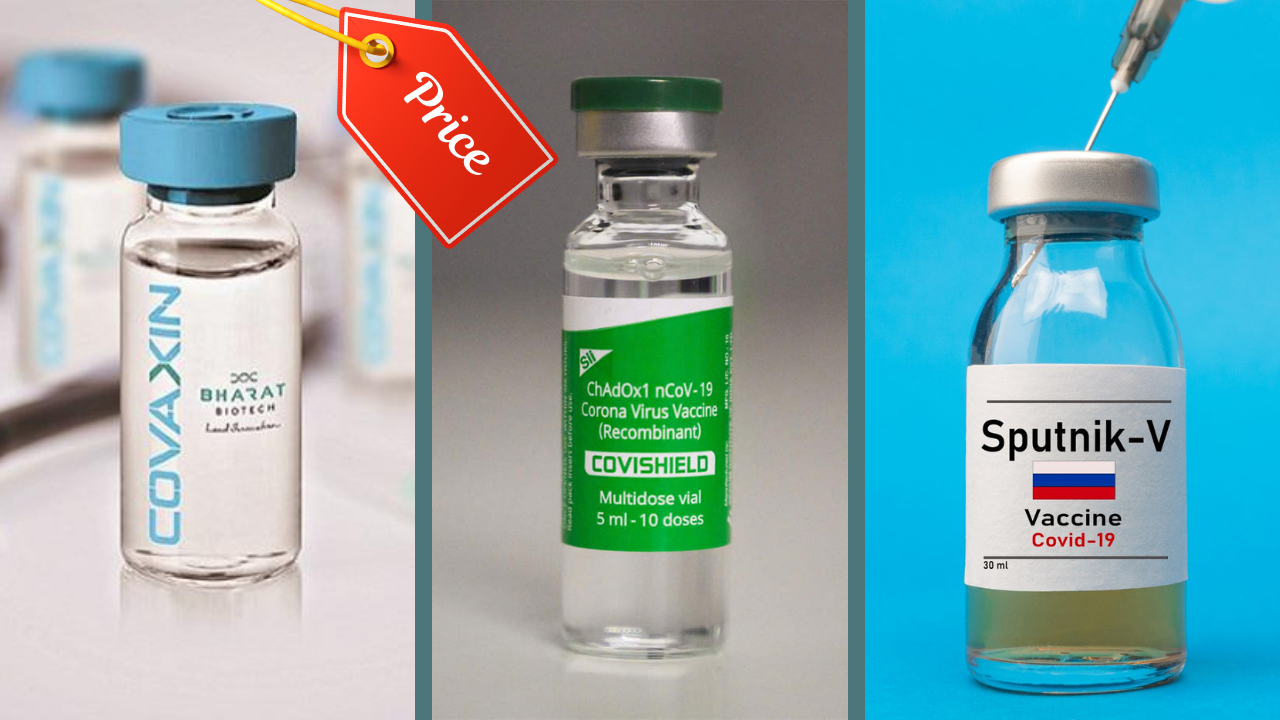 Vaccination: Govt revises vaccine prices; Covishield to cost Rs 780 per dose, Covaxin Rs 1,410, Sputnik V Rs 1,145