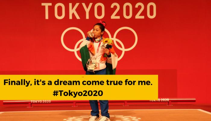Tokyo 2020: Mirabai Chanu wins Silver in weightlifting.